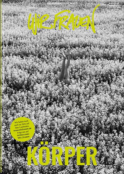 """Das Titelblatt der zweiten Ausgabe 2021 mit dem Schwerpunktthema """"Körper""""."""